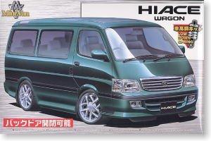 1/24 ミニバンシリーズ5 ハイエース現行型(99年式)アメリカンホイールタイプ 絶版の商品画像