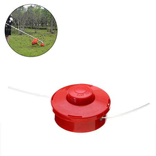 Uscyo Thread Bobbin with Automatic Picking, Double Thread Head for Brush Cutter Grass Trimmer Thread Head, Brush Cutter, Grass Cutter Universal 1 Piece
