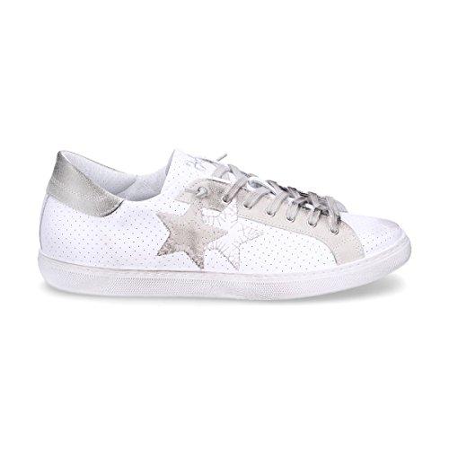 2Star Sneakers Uomo 2Su1821 Pelle Bianco