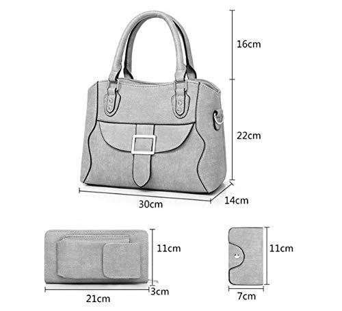 Ligero Handbag Blue 3 Bag Ocio Moda Mujer Al Anvbao Tote Impermeable Hombro Shoulder Gran Crossbody Para En Bolso 1 5 Compras De Viajes Colores Capacidad La BcwqxO4vzx