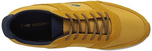 Lacoste Mens Joggeur 417 1 Sneaker Giallo / Blu Scuro