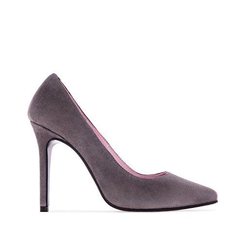 la Mujer Piel Andres Tacón AnteCarbon de Español Zapato 35 de Machado 32 42 Grandes de y Fabricación Pequeñas DIANA Tallas 45 frq1fO0