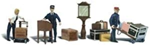 Woodland Scenics Depot Workers & Accessories HO Scale