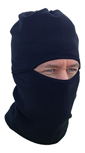 Epic Winter Ski Mask, Polar Fleece Balaclava Hood/Gaiter for Your Cold Outdoor Activities - For Running, Cycling, Snowboarding, Hunting and Tactical -One Size Fits Most Adults