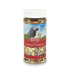 Kaytee Fiesta Mixed Nuts and Cherries Treat for Pet Birds, 8-oz jar 20