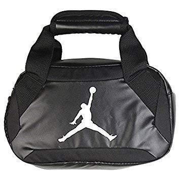 76cf28b0f4a8 Amazon.com  Nike Jumpman Premium Black Lunch Tote  Kitchen   Dining