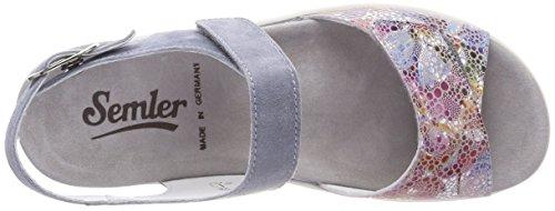 Cinturino con Caviglia alla Blu Sandali 076 Sky Donna Semler Dunja n1qxPSwSF