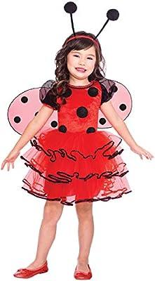 Fancy Me Disfraz de Mariquita para niñas con Insecto de Animales y ...