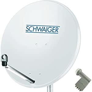 Schwaiger Satelliten-Einheit 1 4tn Hgrau