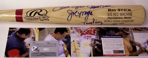 Big Red Machine Hand Signed - Big Red Machine Autographed Hand Signed Baseball Bat - PSA/DNA