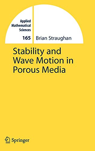 Stability and Wave Motion in Porous Media (Applied Mathematical -