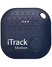 iTrack Easy 2, Bluetooth Tracker, Motion Sensing, Personal Item Finder, Keys/Purse/Item Tracker, Electronic Locator with App, Motion Detector, 1.5 years built-in Replaceable Battery. Compatible with Android and iOS Smart Phone