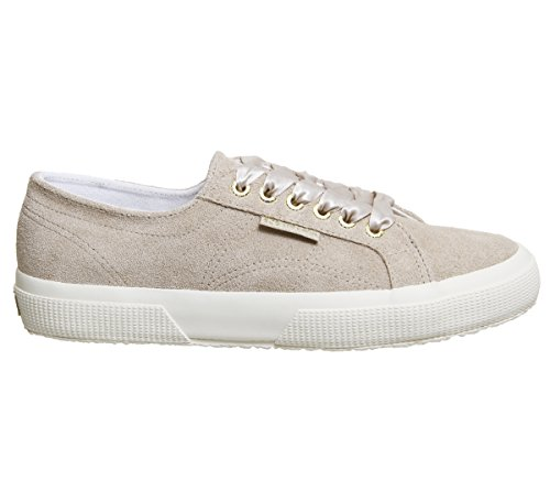 Exclusive COTUSHIRT 2750 Hummus adulto S003I10 Superga Sneaker unisex Suede qw8v5YOT