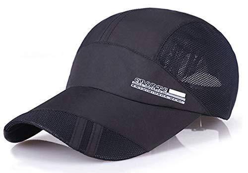 (Baseball Cap Quick Dry Mesh Back Cooling Sun Hats Sports Caps for Golf Cycling Running Fishing )