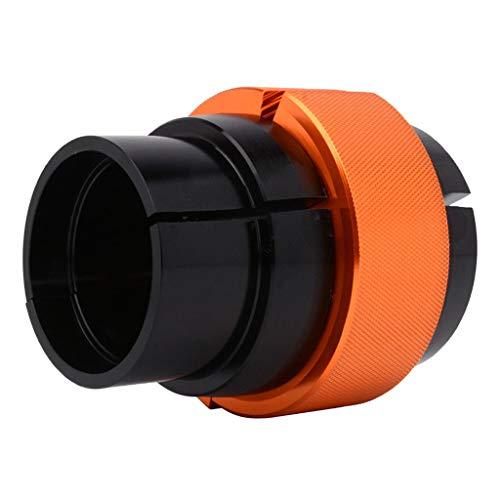 Flameer 40/41mm 42/43mm 45/46mm Ringer Fork Seal Driver, Best Fork Bushings and Seals Installation Tool for Kawasaki - Orange(40-41mm)