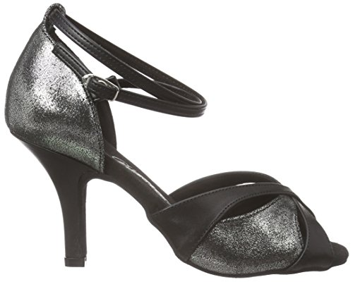 Shoes 141 Platin 058 Ballroom Diamant 420 Women's Dance Antik Multicoloured Schwarz Yqw5xRP