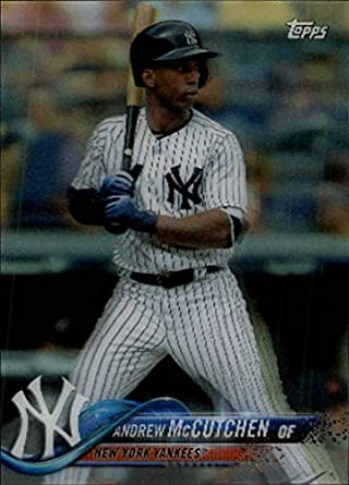 085a446309c 2018 Topps On Demand 3D Baseball  43 Andrew McCutchen New York Yankees Very  Limited Print