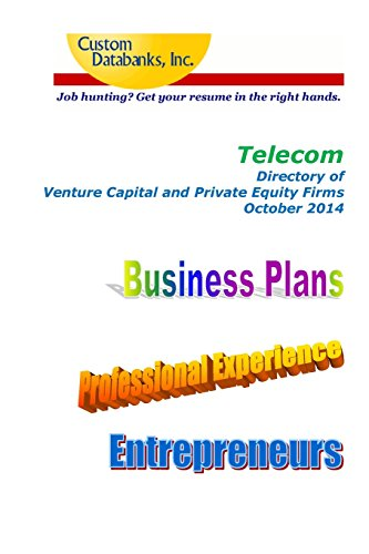 Buy cheap telecom directory venture capital and private equity firms job hunting get your resume the right