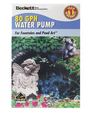 Beckett 7300110 DP80 Small Pond and Pond Art Dual Purpose Pump for Fountains