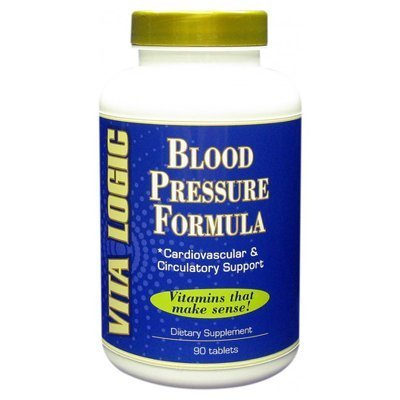 Blood Pressure Formula 90 Tabs by VitaLogic