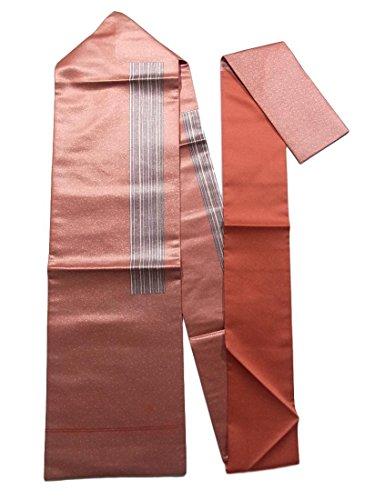 溶接学者業界リサイクル 名古屋帯 大久保玄才 縞模様 正絹