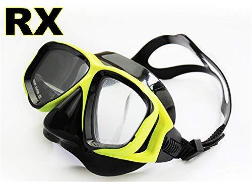 3b93f4f0f59 YEESAM ART Diving Snorkeling Prescription Mask Nearsighted Myopia - Scuba  Dive Snorkel Mask Nearsighted Prescription RX Optical Corrective Lenses  Customized ...