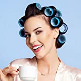 Self Grip Hair Rollers Set, with Hairdressing