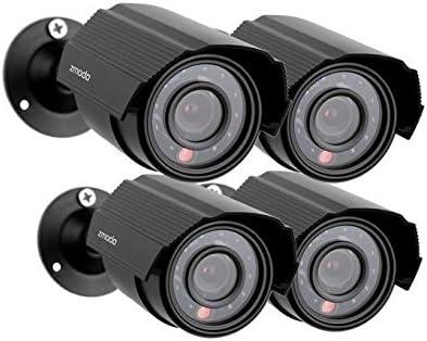 Zmodo 700TVL 4-Pack Indoor Outdoor Analog Cameras ZMD-P4-YARAZ4ZN