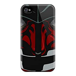 Tpu Case Cover Compatible For Iphone 4/4s/ Hot Case/ Samurai
