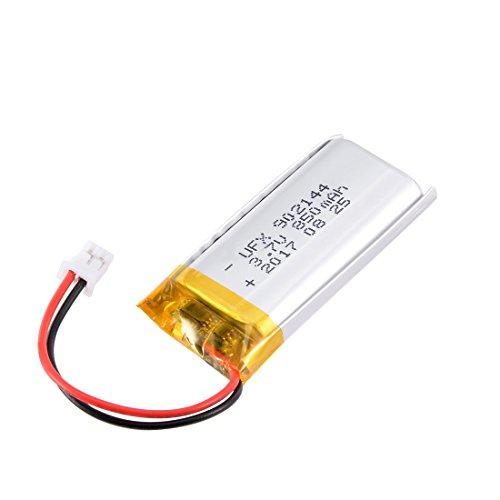 uxcell Power Supply DC 3.7V 850mAh 2P PH 2.0mm Pitch Li-ion Rechargeable Lithium Polymer Li-Po - Pro Battery Polymer Li Ion