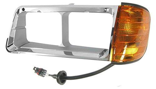 (Chrome Inner Headlamp Headlight Bezel Driver Side Left for FLD 112 120)