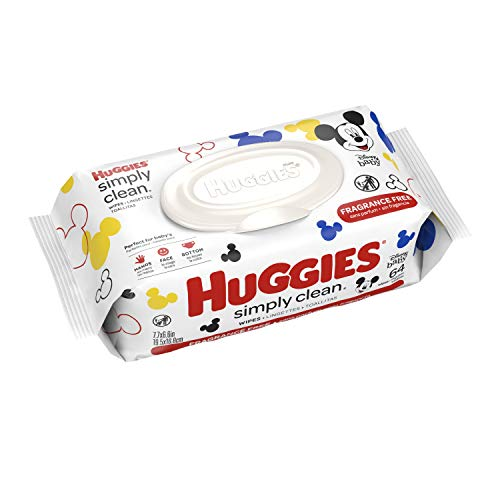 HUGGIES Simply Clean Baby Wipes, 1 Soft Pack