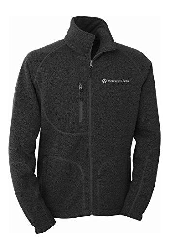 mercedes-benz-mens-sweater-knit-fleece-gray-2xl
