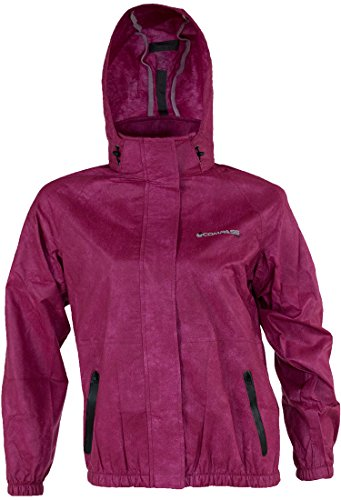 COMPASS AT23202-10-XX Womens Advantagetek T50 Rain Jacket, Black, - Wind Jacket Pro