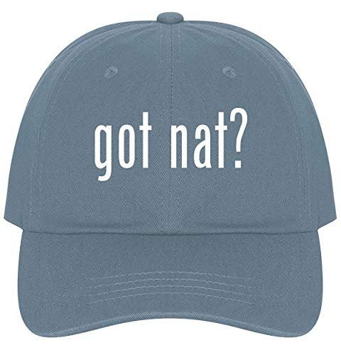 The Town Butler got NAT? - A Nice Comfortable Adjustable Dad Hat Cap, Light ()