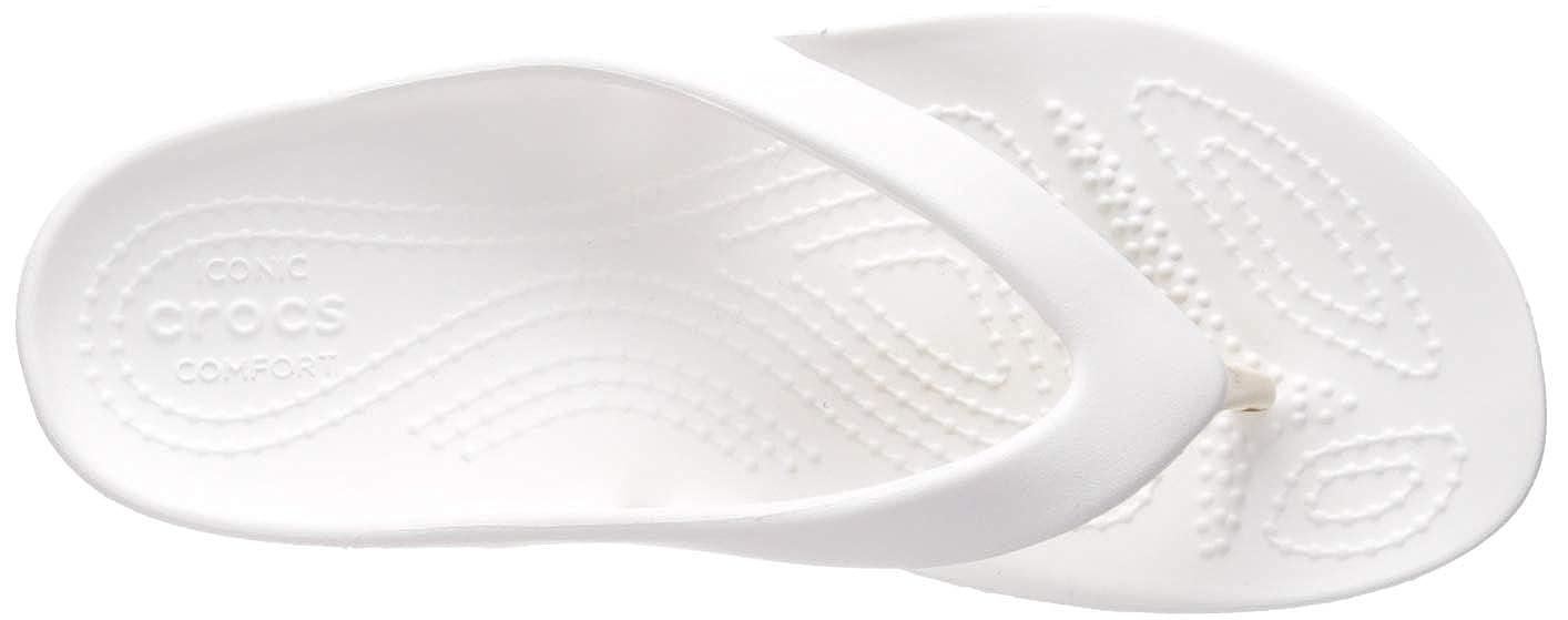 Crocs Womens Kadee II Flip Flop Casual Lightweight Beach Sandal or Shower Shoe