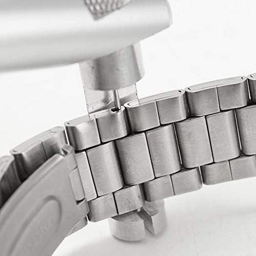 3本のピンアクセサリツールとリボンのブレスレットストラップリンクピンリムーバー除去修復ツールプライヤーセット