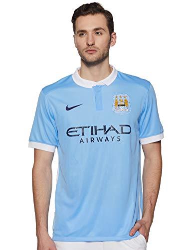 Nike Mens Manchester City Home Stadium Jersey [Field Blue] (XL)