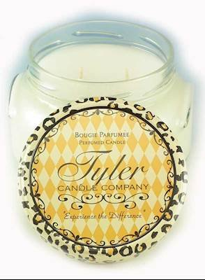 Wisteria Lane Scent Tyler Company 11155 Prestige Collection 11oz Two Wick Tyler Candle