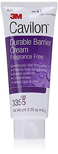 3M Cavilon Durable Barrier Cream Fragrance Free 3.25 ounce (92g) Tube (Pack of 2)
