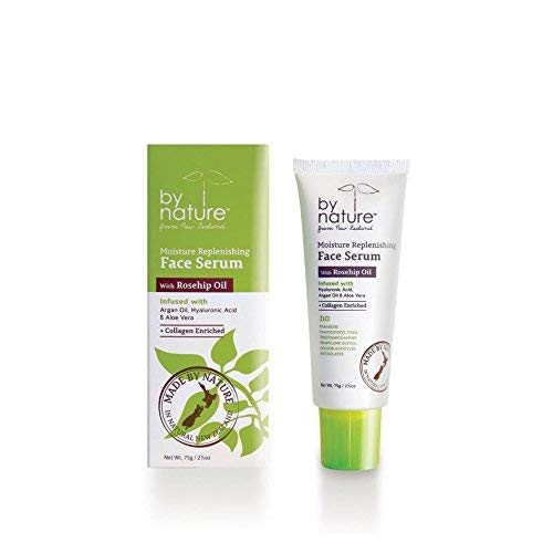 By Nature From New Zealand Moisture Replenishing Face Serum with Rosehip Oil