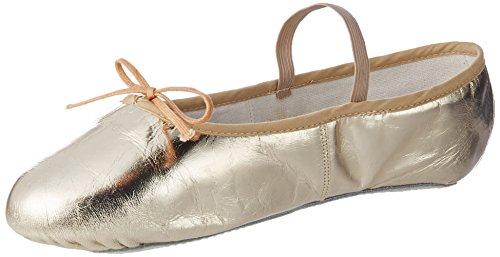 Ballet color Piel Unisex Dorado Balerinas Dorado Miguelito para ...