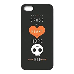 Maroon 5 Pattern Design Solid Rubber Customized Cover Case for iPhone 4 4s 4s-linda397