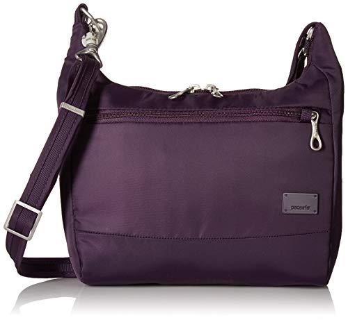 PacSafe Women's Citysafe Cs100 Anti-Theft Travel Handbag-Mulberry Cross-Body Bag, One -