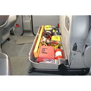 17-17 F250//F350//F450//F550 Superduty Crew Cab DU-HA 20210 Black Underseat Storage Box