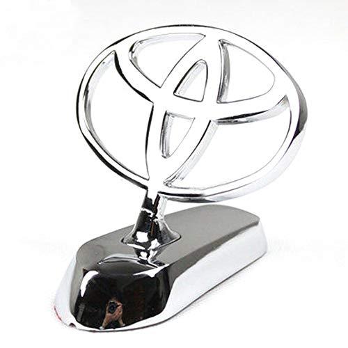 - bearfire 3D Emblem Car Logo Front Hood Ornament Car Cover Chrome Eagle Badge (Toyota)