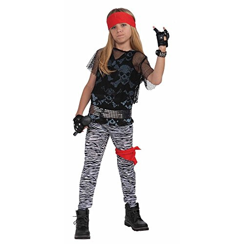 [Forum Novelties 80s Rock Star Boy Child Costume (Large)-Large] (80s Rock Costumes)