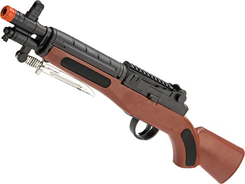 Evike ASP 715B Mini M1 Garand Single Shot Spring Powered Airsoft Rifle (Best M1 Carbine Manufacturer)