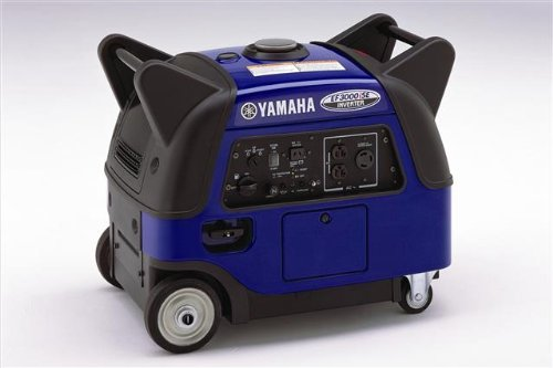 Yamaha EF3000iSEB, 2800 Running Watts 3500 Starting Watts, Gas Powered Portable Inverter