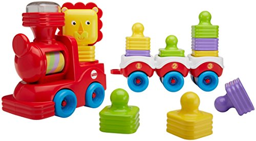 Fisher-Price Little Stackers Lion Locomotive (Price Fisher Stacker)